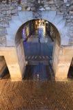 Porta della parete Fotografie Stock