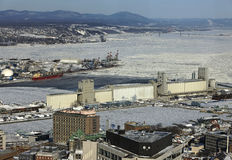 Porta della Quebec Fotografia Stock