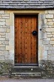 Porta della quercia Immagini Stock Libere da Diritti