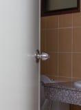 Porta della toilette Fotografia Stock