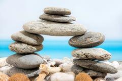 Porta delle pietre sul Fotografia Stock