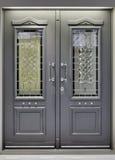 Porta di alluminio Fotografia Stock