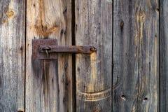 Porta di chiavistello senza molla di scatto Fotografia Stock