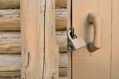 Porta di entrata alla casa di campagna Fotografia Stock Libera da Diritti