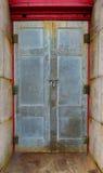 Porta di entrata del faro di Hatteras del capo Fotografia Stock Libera da Diritti