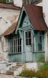 Porta di entrata in una vecchia casa Fotografie Stock Libere da Diritti