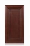 Porta di gabinetto di legno Immagini Stock