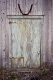Porta di granaio Fotografia Stock