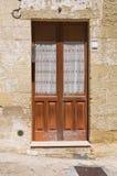 Porta di legno. Immagine Stock