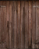 Porta di legno Fotografie Stock