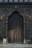 Porta di legno Immagine Stock Libera da Diritti