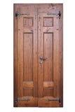 Porta di legno d'annata Immagini Stock Libere da Diritti