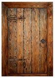 Porta di legno dell'annata Immagini Stock
