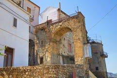 Porta di Mezzo. Rocca Imperiale. Calabria. Italy. Royalty Free Stock Photo