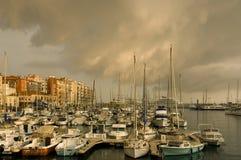 Porta di Nizza dopo la tempesta fotografia stock libera da diritti