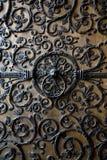 Porta di Notre-Dame de Parigi Immagine Stock Libera da Diritti