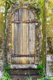 Porta di rovina Immagini Stock