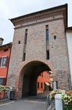 Porta di Sopra. Fontanellato. Emilia-Romagna. Ital Royalty Free Stock Photography