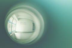 Porta di spioncino Immagine Stock