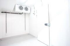Porta di un frigorifero Fotografie Stock