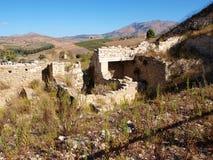 Porta di Valle, Segesta, Sicily, Italy Royalty Free Stock Photos