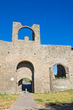 Porta di Valle. Viterbo. Lazio. Italy. Stock Photography
