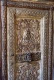 Porta di vecchia chiesa fotografia stock