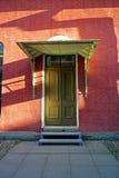 Porta di via Fotografia Stock Libera da Diritti