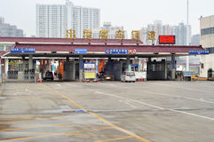 Porta di Zhuhai Gongbei fotografia stock