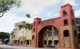 Porta dianteira de Hotel Casa del Rio fotografia de stock royalty free