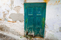 Porta dilapidata Fotografia Stock