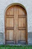 Porta disegnata antica in Slovacchia, Fotografie Stock