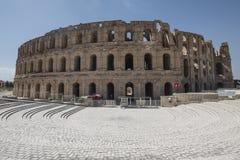 Porta do Amphitheatre do EL Djem fotos de stock royalty free