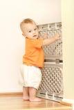 Porta do bebê Foto de Stock
