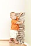 Porta do bebê Fotografia de Stock