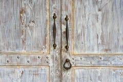 Porta do branco do vintage Imagem de Stock