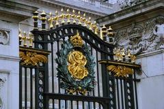 Porta do Buckingham Palace Fotografia de Stock