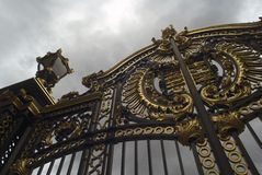 Porta do Buckingham Palace Fotos de Stock Royalty Free