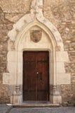 Porta do castelo Imagens de Stock