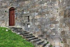 Porta do castelo Fotografia de Stock