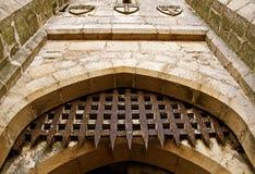 Porta do castelo Fotografia de Stock Royalty Free