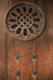 Porta do castelo velho japonês Foto de Stock