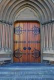 Portal na catedral Foto de Stock Royalty Free