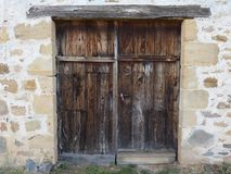 Porta do celeiro fotografia de stock