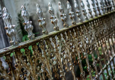 Porta do cemitério de Nova Orleães Lafayette Foto de Stock