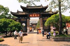 Porta do chinês tradicional Fotos de Stock