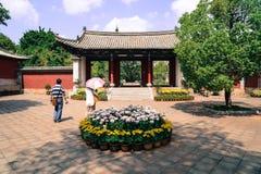 Porta do chinês tradicional Imagens de Stock Royalty Free