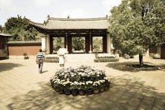 Porta do chinês tradicional Imagens de Stock