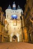 Porta do Cloche de Grosse no Bordéus, France Foto de Stock Royalty Free