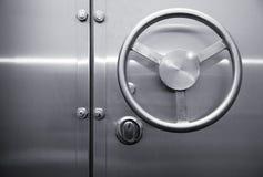 Porta do cofre forte Foto de Stock Royalty Free